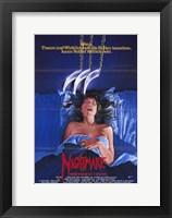 Framed Nightmare on Elm Street  a - woman
