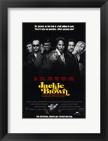 Framed Jackie Brown 6 Players