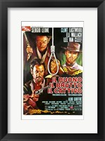 Framed Good  the Bad and the Ugly Italian