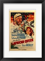 Framed African Queen Robert Morley