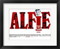 Framed Alfie Michael Caine