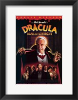 Framed Dracula Dead and Loving it