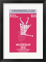 Framed Funny Girl Barbra Streisand
