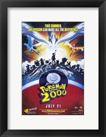 Framed Pokemon the Movie 2000: the Power of One