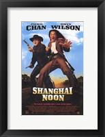 Framed Shanghai Noon Jackie Chan