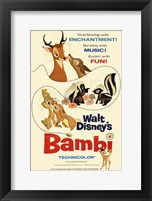 Framed Bambi Enchantment Music Fun