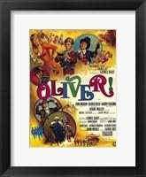Framed Oliver Lionel Bart