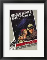Framed Bonnie and Clyde Warren Beatty