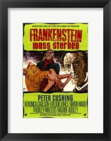 Framed Frankenstein Must Be Destroyed Peter Cushing