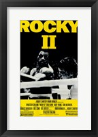 Framed Rocky 2 Punched