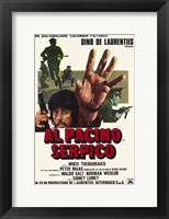 Framed Serpico Italian