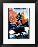 Framed Mad Max Interceptor