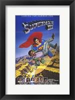 Framed Superman 3 Cast