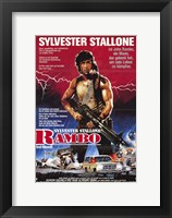 Framed Rambo: First Blood Sylvester Stallone
