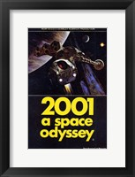 Framed 2001: a Space Odyssey Spaceshuttle