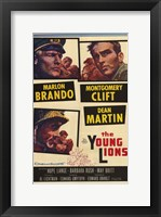 Framed Young Lions