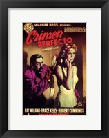 Framed Dial M for Murder - spanish