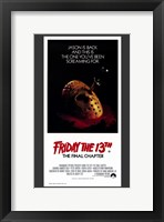 Framed Friday the 13Th Part 4 --The Final Chapter