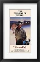 Framed Karate Kid Moment of Truth