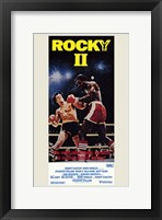 Framed Rocky 2 in the Arena