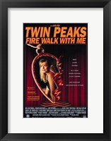 Framed Twin Peaks Fire Walk with Me Heart Locket