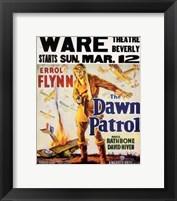 Framed Dawn Patrol Errol Flynn
