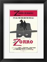 Framed Zorro