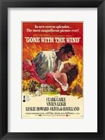 Framed Gone with the Wind - In new screen splendor...