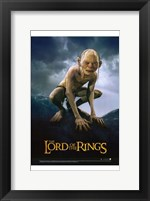 Framed Lord of the Rings: Return of the King Gollum