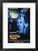 Framed American Werewolf in Paris  an