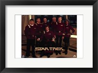 Framed Star Trek Movie Series