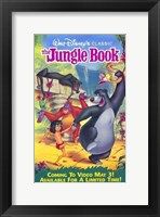 Framed Jungle Book Walt Disney Classic