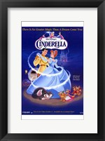 Framed Cinderella Dancing