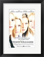 Framed White Oleander