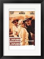 Framed Misfits Clift Monroe Gable