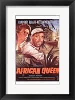 Framed African Queen Bogart & Hepburn