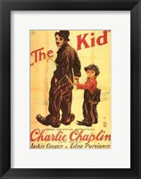 Framed Kid Jackie Coogan Edna Purviance