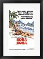 Framed Bora Bora