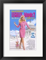 Framed Legally Blonde 2: Red  White Blonde