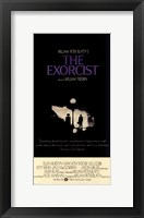 Framed Exorcist Black and White