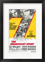 Framed Magnificent Seven Horst Bucholz