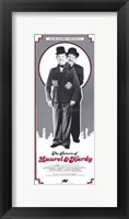 Framed Return of Laurel and Hardy