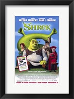 Framed Shrek - Mike Myers