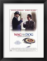 Framed Wag the Dog movie poster