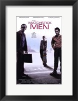 Framed Matchstick Men