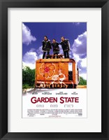 Framed Garden State - three people