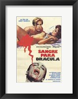 Framed Andy Warhol's Young Dracula