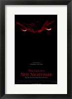 Framed Wes Craven's New Nightmare (eyes)