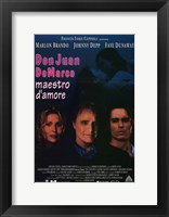 Framed Don Juan De Marco Film Italian