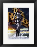 Framed Lara Croft Tomb Raider: the Cradle of Life